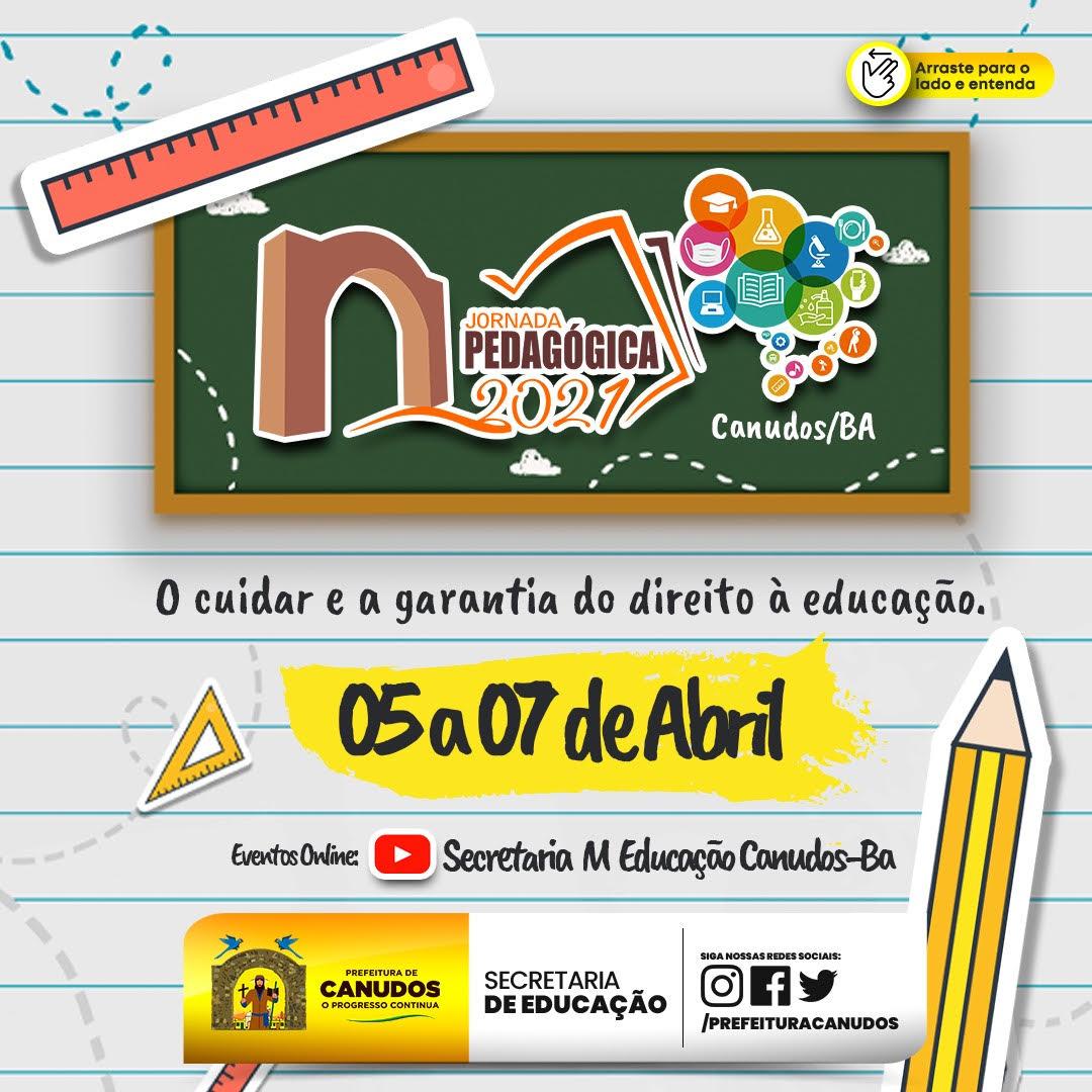Jornada Pedagógica – Canudos Bahia 📚