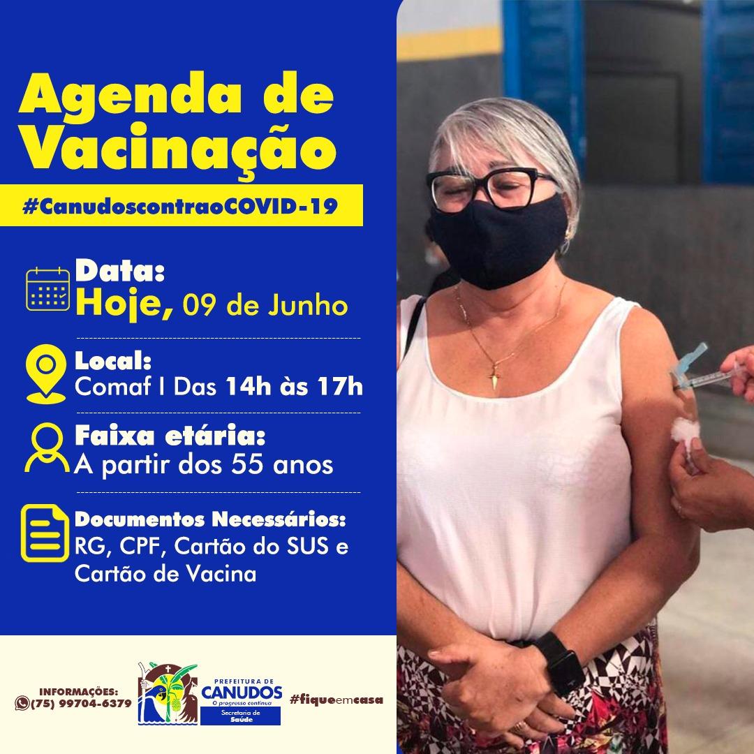 Agenda de Vacinação COVID-19 💉
