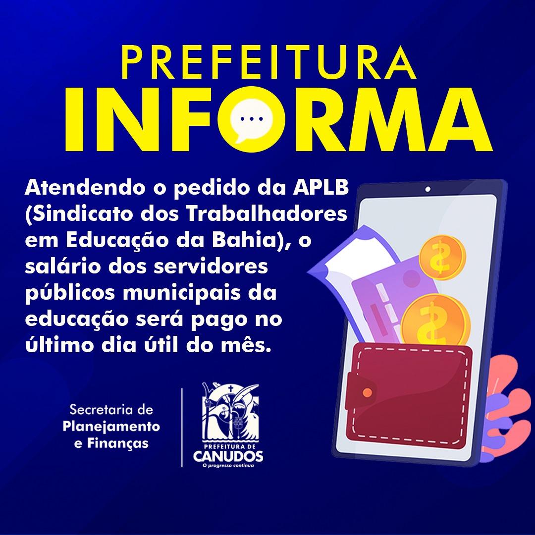 PREFEITURA INFORMA: